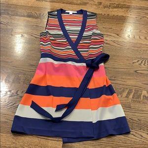Diane Von Furstenberg wrap dress, 8